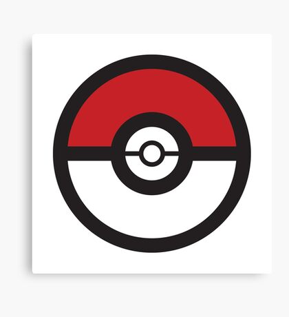 Pokémon GO Pokéball Squad by PokeGO Canvas Print