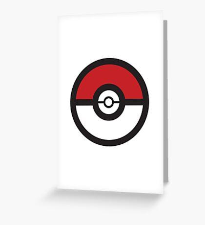 Pokémon GO Pokéball Squad by PokeGO Greeting Card