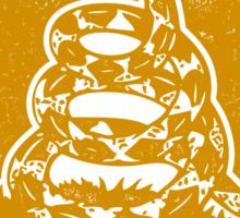Don't Tread On Me (yellow print) Sticker