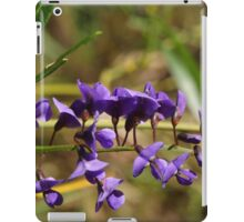 A Strand of Hovea iPad Case/Skin