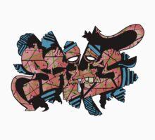 SLUG GRAFF II One Piece - Short Sleeve