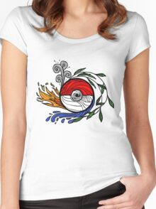 Pocket Monster Potential Women's Fitted Scoop T-Shirt