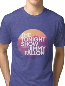 Sunset Jimmy Fallon Tri-blend T-Shirt