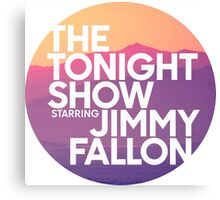 Sunset Jimmy Fallon Canvas Print