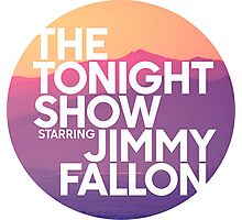 Sunset Jimmy Fallon Photographic Print