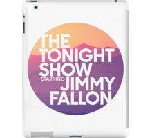 Sunset Jimmy Fallon iPad Case/Skin