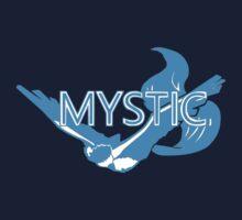 Stylized Team Mystic Print Kids Tee