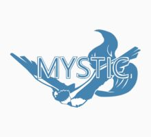 Stylized Team Mystic Print One Piece - Short Sleeve