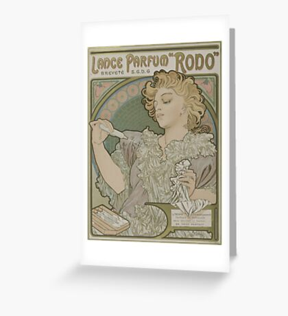 Vintage poster - Rodo Greeting Card
