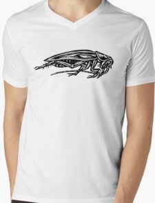 Cockroach (Side View) Mens V-Neck T-Shirt