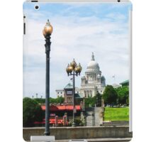 Capitol Building Seen from Waterplace Park iPad Case/Skin
