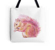Pink Squirrel Tote Bag