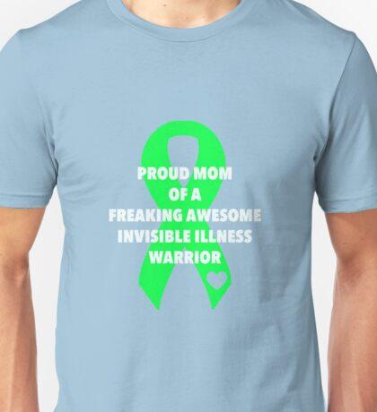 Proud Mom - Lime Unisex T-Shirt