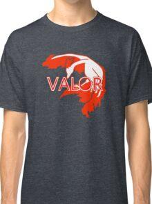 Stylized Team Valor Print Classic T-Shirt