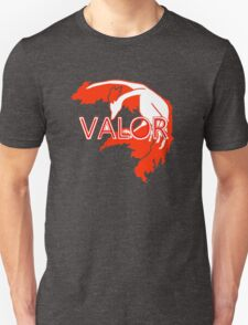 Stylized Team Valor Print Unisex T-Shirt