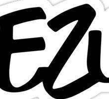 Black Aezus Logo Sticker