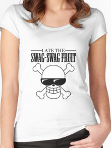 Swag-Swag Fruit Women's Fitted Scoop T-Shirt