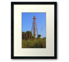 Historic Boca Light  Framed Print