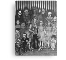horror villains Metal Print
