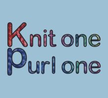 Knit one purl one Baby Tee