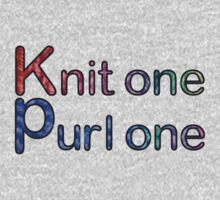 Knit one purl one One Piece - Long Sleeve