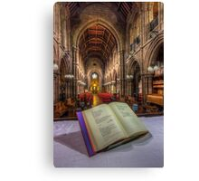 From The Hymn Book Canvas Print