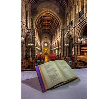 From The Hymn Book Photographic Print