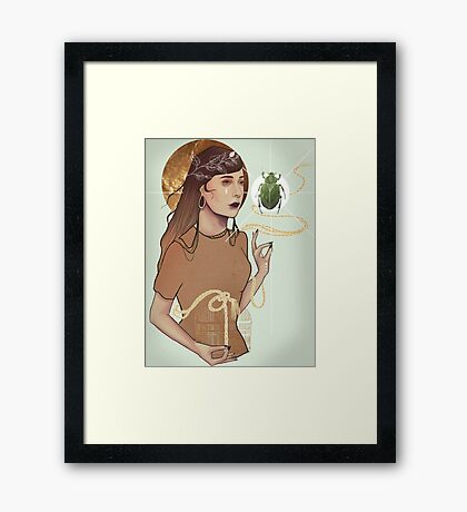 Insect Cage Framed Print