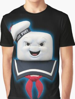 Ghostbusters - Stay Puft Marshmallow Man Bust Graphic T-Shirt