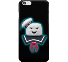 Ghostbusters - Stay Puft Marshmallow Man Bust iPhone Case/Skin