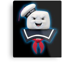 Ghostbusters - Stay Puft Marshmallow Man Bust Metal Print