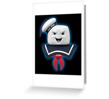 Ghostbusters - Stay Puft Marshmallow Man Bust Greeting Card