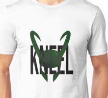 """Loki """"Kneel"""" Unisex T-Shirt"""