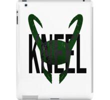 "Loki ""Kneel"" iPad Case/Skin"