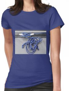 A Tangle of Blue Womens Fitted T-Shirt