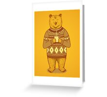 Keep Warm Greeting Card