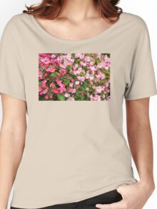 Pink Blooms Women's Relaxed Fit T-Shirt