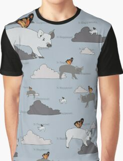 When Pigs Fly Graphic T-Shirt