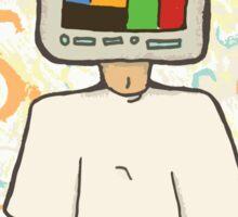 TV HEAD Sticker