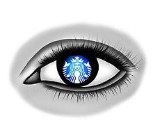 Starbucks Eye by Miguel Sarmiento Perea