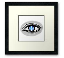 Starbucks Eye Framed Print