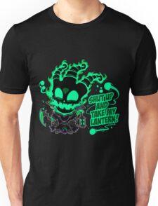 SHUT UP AND TAKE MY LANTERN!! Unisex T-Shirt