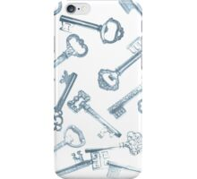 Keys --an experiment in print iPhone Case/Skin