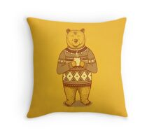 Keep Warm Throw Pillow