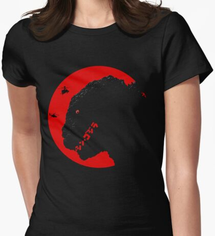 Shin - Gojira Womens Fitted T-Shirt
