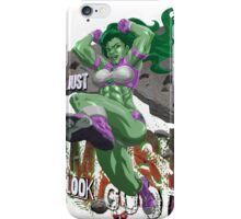 Shulkster w/Letters iPhone Case/Skin