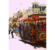 Clang! Clang! Clang! Goes the Trolley Photographic Print
