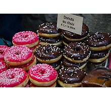 Donuts for you!  Photographic Print