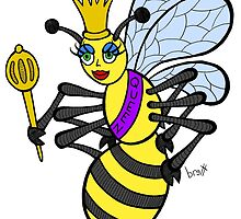 Beauty Queen Bee by Brett Gilbert