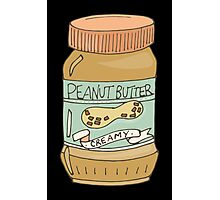 Jar Of Peanut Butter Photographic Print